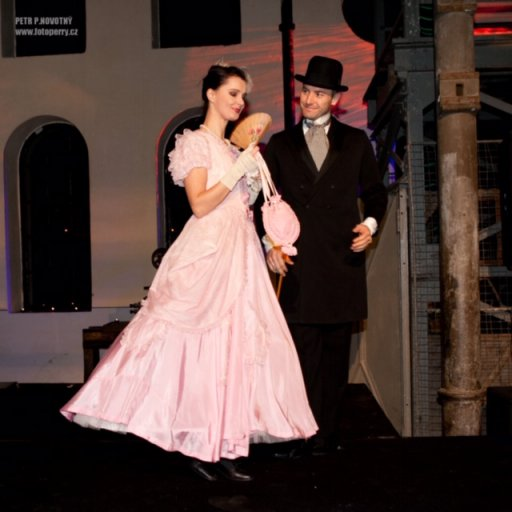 Ekomuzeum, Art Nouveau fashion show, 2011